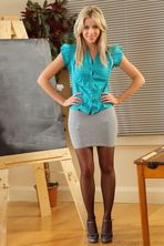Sexy Blonde Teacher 00